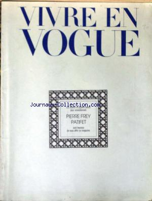 VIVRE EN VOGUE no: