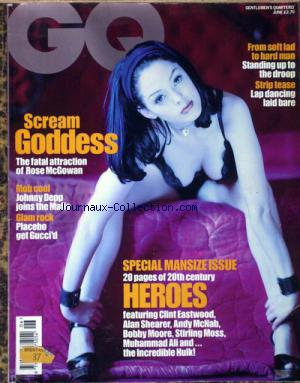 GQ BRITISH no:6 01/12/2000