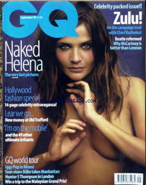 GQ BRITISH no:9 01/09/1999