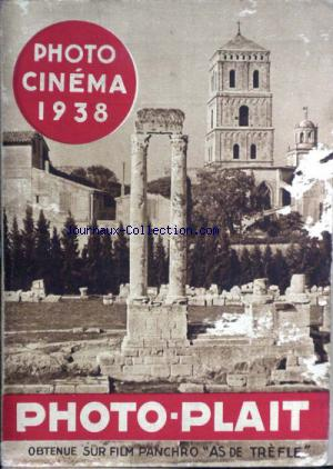 PHOTO CINEMA 1938 no: 01/01/1938