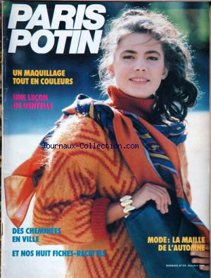 PARIS POTIN no:23 01/10/1986