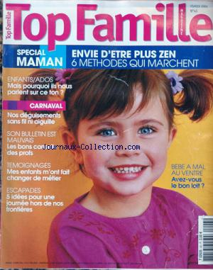 TOP FAMILLE MAGAZINE no:43 01/02/2004