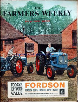 FARMERS WEEKLY (THE) no: 07/07/1961