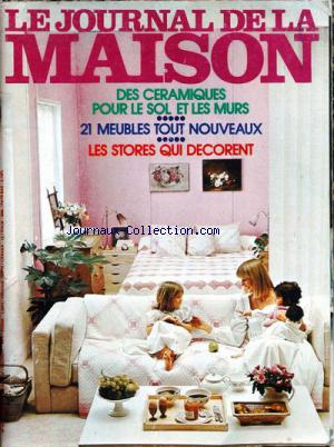 JOURNAL DE LA MAISON (LE) no:83 01/04/1975