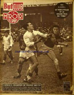 BUT ET CLUB -  LE MIROIR DES SPORTS  no:294 21/05/1951