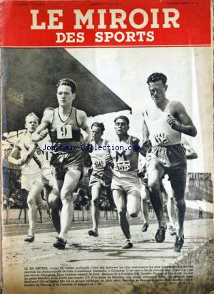 MIROIR DES SPORTS (LE) no:12 23/06/1941