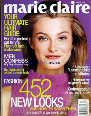 MARIE CLAIRE LANGUE ANGLAISE no:3 01/03/1998