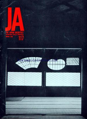JAPAN ARCHITECT (THE) no:117 01/03/1966