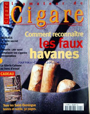 AMATEUR DE CIGARE (L') no:21 22/09/1999