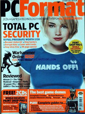 PC FORMAT no:10 01/10/2002
