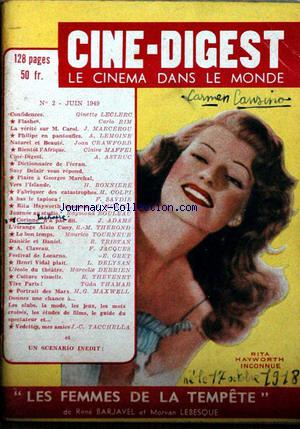 CINE DIGEST no:2 01/06/1949