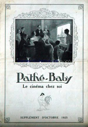 CINEMA CHEZ SOI (LE) no: 01/10/1925