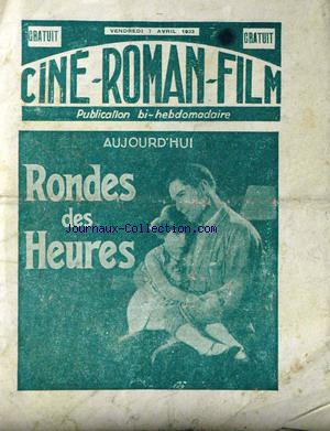 CINE ROMAN FILM no: 07/04/1933