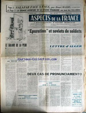 ASPECTS DE LA FRANCE no:660 04/05/1961