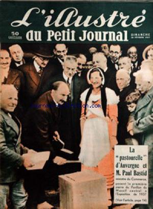 PETIT JOURNAL SUPPLEMENT ILLUSTRE (LE) no: 28/02/1937