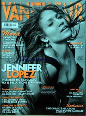 VANITY FAIR ITALIE no:5 10/02/2005