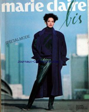MARIE CLAIRE BIS no:10 22/09/1984
