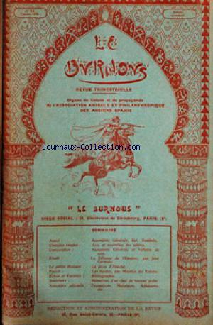 BURNOUS (LE) no:64 01/10/1936