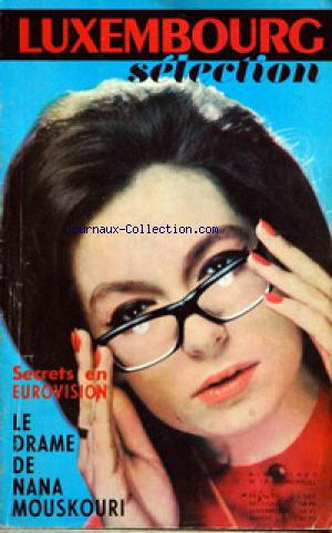 LUXEMBOURG SELECTION no:13 01/04/1963
