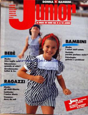 DONNA AND BAMBINI JUNIOR no: