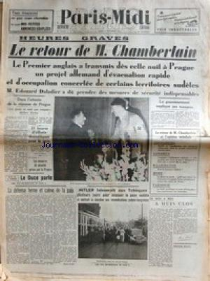 PARIS MIDI no: 24/09/1938