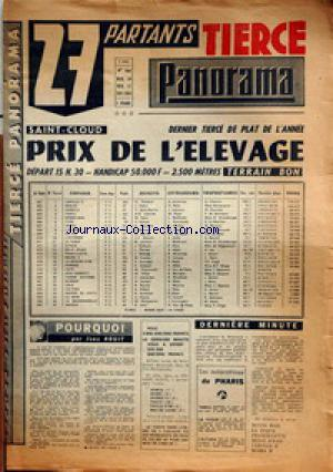 TIERCE PANORAMA no:264 10/11/1964