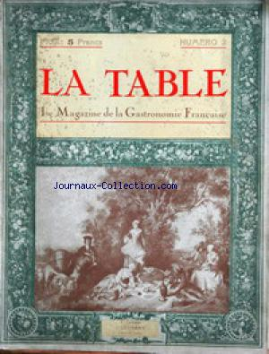 TABLE (LA) no:2