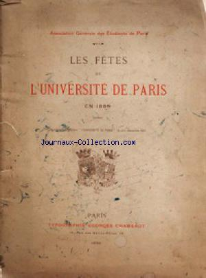 ASSOCIATION DES ETUDIANTS DE PARIS no: 01/06/1890