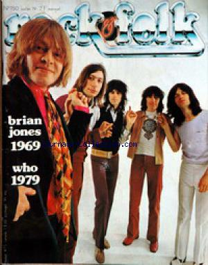 ROCK AND FOLK no:150 01/07/1979