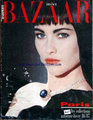 BAZAAR HARPER'S FRANCE no:22 01/08/1986
