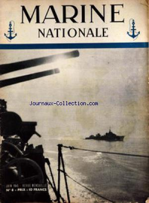 MARINE NATIONALE no:8 01/06/1945