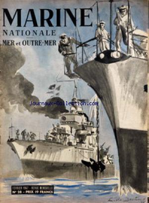 MARINE NATIONALE no:28 01/02/1947