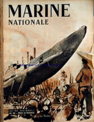 MARINE NATIONALE no:22 01/08/1946