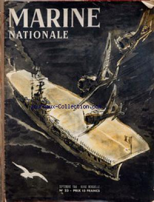 MARINE NATIONALE no:23 01/09/1946