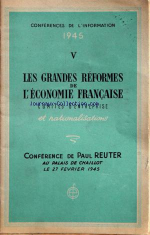 CONFERENCES DE L'INFORMATION no:2 27/02/1945
