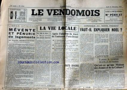 VENDOMOIS (LE) no:1164 21/12/1967