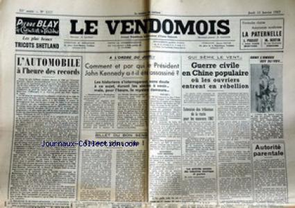 VENDOMOIS (LE) no:1117 12/01/1967
