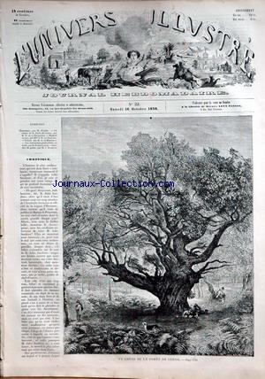UNIVERS ILLUSTRE (L') no:22 16/10/1858
