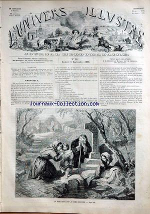 UNIVERS ILLUSTRE (L') no:16 04/09/1858