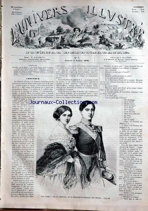 UNIVERS ILLUSTRE (L') no:7 03/07/1858