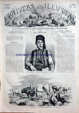 UNIVERS ILLUSTRE (L') no:6 26/06/1858
