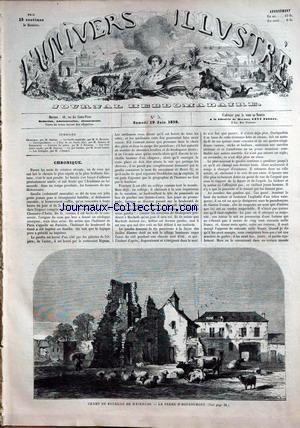UNIVERS ILLUSTRE (L') no:5 19/06/1858