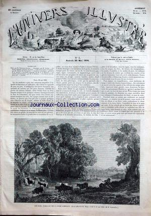 UNIVERS ILLUSTRE (L') no:1 22/05/1858