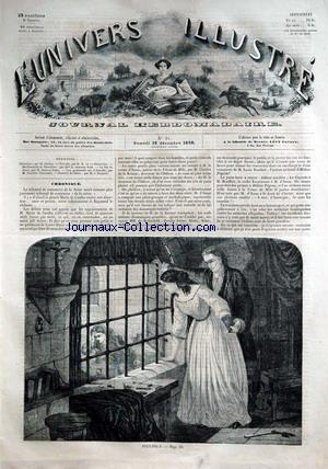 UNIVERS ILLUSTRE (L') no:31 18/12/1858