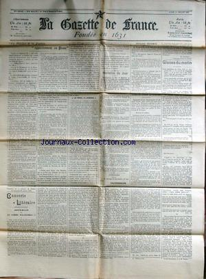 GAZETTE DE FRANCE (LA) no: 27/07/1903
