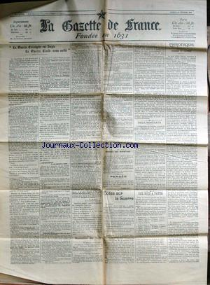 GAZETTE DE FRANCE (LA) no: 20/02/1904
