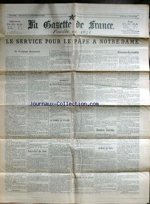 GAZETTE DE FRANCE (LA) no: 29/07/1903