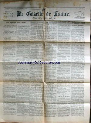 GAZETTE DE FRANCE (LA) no: 11/05/1903