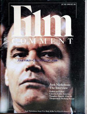 FILM COMMENT no: 01/06/1985