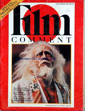 FILM COMMENT no: 01/10/1985